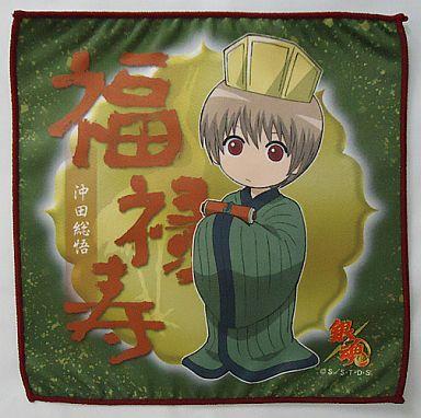 沖田(福禄寿) マイクロファイバーミニタオル 七福神ver. 「銀魂」
