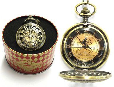 【中古】腕時計・懐中時計(キャラクター) ミッキー(ゴールド) Walt Disney 110th Anniversary ハイクオリティ ラインストーン付レリーフ懐中時計 「ディズニー」