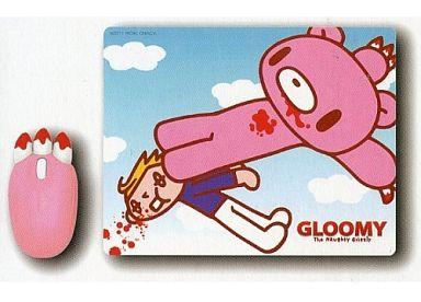 【中古】マウスパッド(キャラクター) B.ドロップキック 腕グル?ミ?マウス&マウスパッドセット 「チャックスGP」