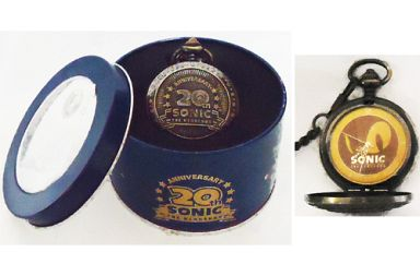 【中古】腕時計・懐中時計(キャラクター) ソニック(ゴールデンアイ) メモリアル懐中時計 「ソニック・ザ・ヘッジホッグ」