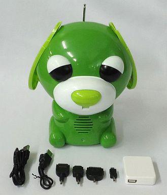 【中古】小物(キャラクター) 緑茶犬(リョク) 番犬お茶犬 「伊藤園 お?いお茶 番犬お茶犬プレゼントキャンペーン」 当選品