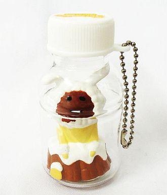 【中古】キーホルダー・マスコット(キャラクター) 白ウサギなめこ 「キャラボトル おさわり探偵なめこ栽培キット」