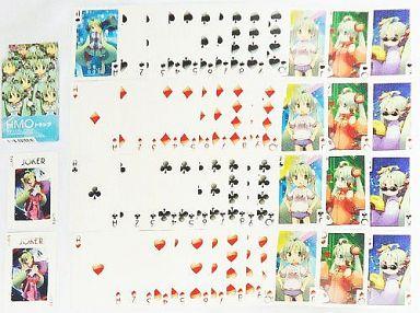【中古】小物(キャラクター) HMO(初音ミクオーケストラ)トランプ 「ファミリーマート×初音ミク」 初音ミク 5th Anniversary ミク LOVES ファミマ♪キャンペーン