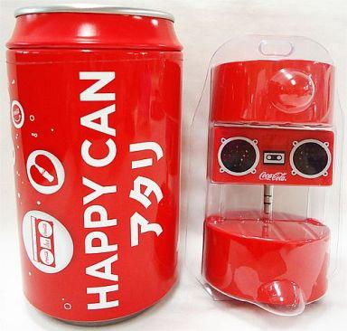 【中古】スピーカー(キャラクター) コカ・コーラ シェアスピーカー 「コカ・コーラ ハッピー缶がアタル!!」 キャンペーン品