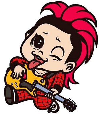 【中古】キーホルダー・マスコット(男性) ギター SUGI/高杉晋作(幕×JAPAN) 「戦国鍋TV ミュージック・トゥナイト ラバーマスコット Vol.3」