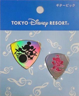 【中古】小物(キャラクター) ミッキー&ミニー ギターピック 「ディズニー」東京ディズニーリゾート限定
