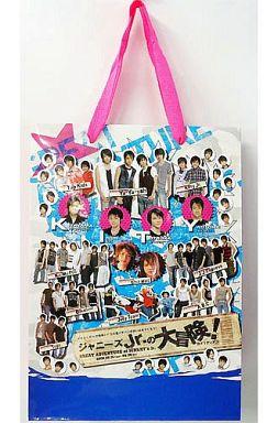 【中古】紙袋(男性) ジャニーズJr. ショッピングバッグ 「ジャニーズJr.の大冒険'07@メリディアン」