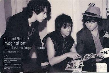 【中古】マウスパッド(男性) カンイン&ハンギョン&キュヒョン(SUPER JUNIOR) マウスパッドA 2009年