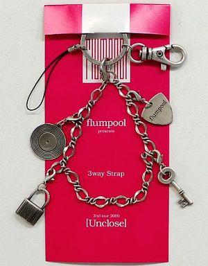 【中古】ストラップ(男性) flumpool 3ウェイストラップ 「flumpool 2nd tour 2009 『Unclose』」