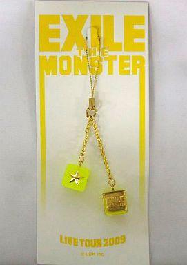 """【中古】ストラップ(男性) EXILE キューブストラップ(イエロー) 「EXILE LIVE TOUR 2009 """"THE MONSTER""""」"""