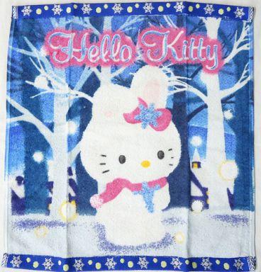 【中古】タオル・手ぬぐい(キャラクター) キティ(雪うさぎ) ハンドタオル 「ハローキティ」 北海道限定