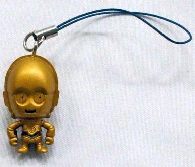 【中古】ストラップ(キャラクター) C-3PO ストラップ 「スター・ウォーズ エピソード1 ファントム・メナス3D×パンソンワークス」 PEPSI NEXオンパックキャンペーン
