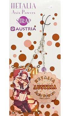 【中古】ストラップ(キャラクター) D.オーストリア ストラップ 「ヘタリア Axis powers 原作版」