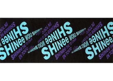 """【中古】タオル・手ぬぐい(男性) SHINee スポーツタオル「SHINee THE 1st CONCERT in TOKYO """"SHINee World""""」"""