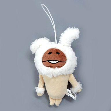 【中古】キーホルダー・マスコット(キャラクター) 白ウサギなめこ ウサギたちマスコット 「おさわり探偵なめこ栽培キット」