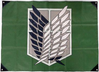 【中古】ポスター・タペストリー B.調査団 団旗 「進撃の巨人」