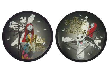 【中古】生活雑貨(キャラクター) ジャックスケリントン&サリー CDケース 「ナイトメアー・ビフォア・クリスマス」