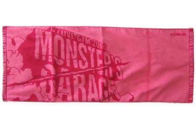 """【中古】タオル・手ぬぐい(男性) B'z ツアーロゴ タオル 「B'z LIVE-GYM 2006 """"MONSTER'S GARAGE""""」"""