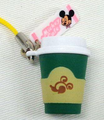 【中古】ストラップ(キャラクター) ホットチョコレート(テイクアウト) 「ミッキーマウス ハッピータイムカフェマスコット」
