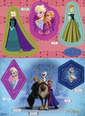 Eアナエルサイラスト横集合cg横 アナと雪の女王 マグネット