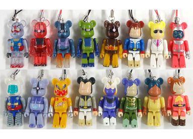 【中古】ストラップ(キャラクター) 全16種セット ストラップ 「機動戦士ガンダム PEPSI NEX Gundam BE@RBRICK ベアブリック Vol.2」