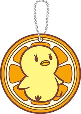 "Piyo-chan coaster type rubber key holder Ver.2 ""Uta no ☆ FLORENCE B. PRINCE sama ♪"""
