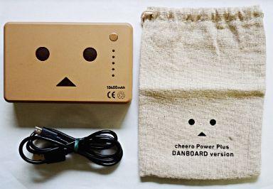 【中古】家電サプライ他(キャラクター) [箱・説明書欠品] ダンボー DANBOARD version cheero Power Plus 10400mAh(大容量モバイルバッテリー) 「よつばと!」