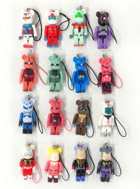 【中古】ストラップ(キャラクター) 全16種セット ストラップ 「機動戦士ガンダム PEPSI NEX Gundam BE@RBRICK-ベアブリック-」