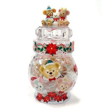 【中古】小物(キャラクター) ダッフィーのクリスマス キャンディ 「クリスマス・ウィッシュ2014」 東京ディズニーシー限定