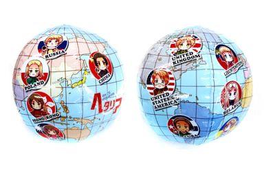 【中古】生活雑貨(キャラクター) B柄 ワールドボール 「Axis powers ヘタリア」