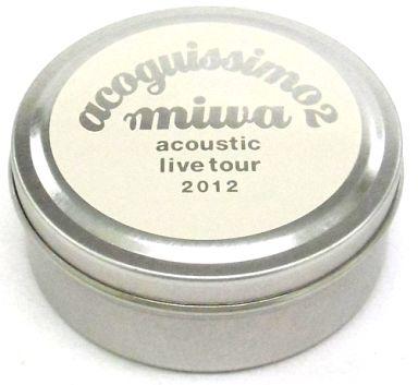 """【中古】小物(女性) miwa ピックケース 「miwa acoustic live tour 2012""""acoguissimo 2""""」"""