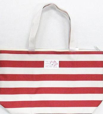 【中古】バッグ(女性) [単品] HKT48 福袋オリジナルバッグ(レッド×ホワイト) 「HKT48 2015年 10000円福袋」