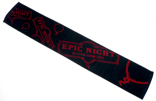 【中古】タオル・手ぬぐい(男性) B'z マフラータオル 「B'z LIVE-GYM 2015 -EPIC NIGHT-」
