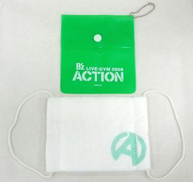 """【中古】生活雑貨(男性) B'z マスク(グリーン) 「B'z LIVE-GYM 2008 """"ACTION""""」 ガチャガチャ景品"""