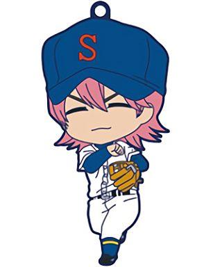 【中古】ストラップ(キャラクター) 小湊亮介 「ねんどろいどぷらす トレーディングラバーストラップ ダイヤのA」