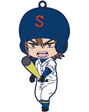 【中古】ストラップ(キャラクター) 伊佐敷純 「ねんどろいどぷらす トレーディングラバーストラップ ダイヤのA」