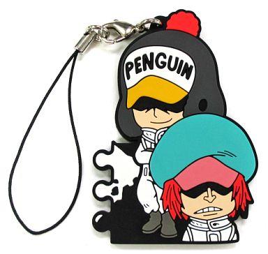 ペンギン&シャチ ラバーストラップ きゅんキャラいらすとれーしょんず 「一番くじ ワンピース ヒストリーオブロー」 H賞