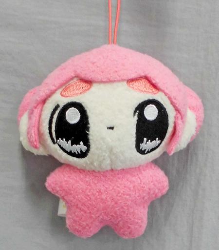 【中古】キーホルダー・マスコット(キャラクター) おもちエイリアン(ピンク) おもちマスコット 「おもちエイリアン」