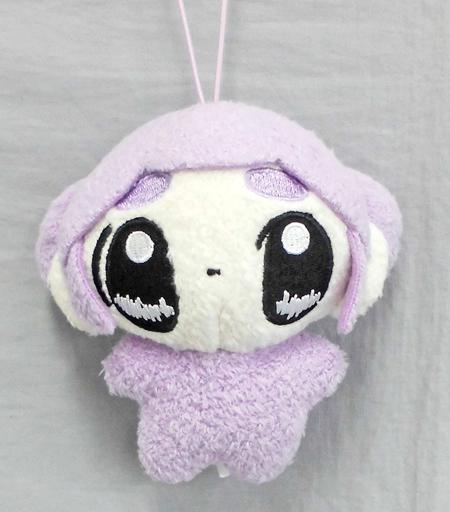 【中古】キーホルダー・マスコット(キャラクター) おもちエイリアン(紫) おもちマスコット 「おもちエイリアン」