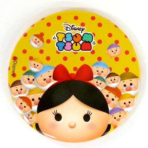 白雪姫背景黄色ドット ラウンドミラーvol1 ディズニー Tsum Tsum
