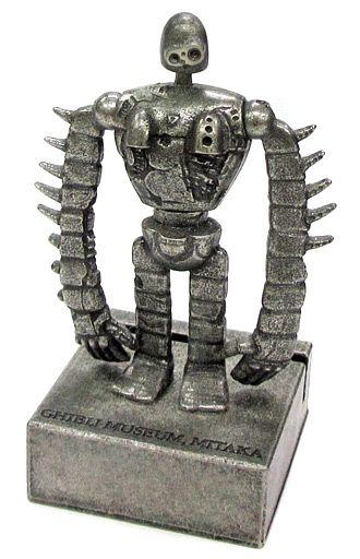 【中古】小物(キャラクター) ジブリ美術館屋上ロボット兵 カードスタンド 「天空の城ラピュタ」 三鷹の森ジブリ美術館限定