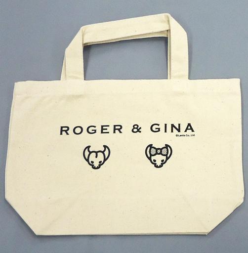【中古】バッグ(男性) GRANRODEO ロジャー&ジーナ トートバッグ(ホワイト) 「GRANRODEO CAFE」