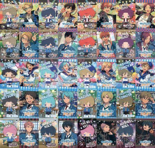【中古】キーホルダー・マスコット(キャラクター) 全20種セット 「こえだらいずアクセサリーシリーズ あんさんぶるスターズ! Vol.1 ブロマイドキーホルダー」
