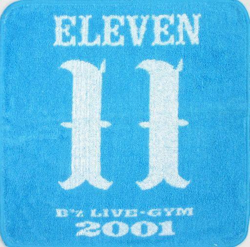 """【中古】タオル・手ぬぐい(男性) B'z フェイスタオル(水色) 「B'z LIVE-GYM 2001 """"ELEVEN""""」"""