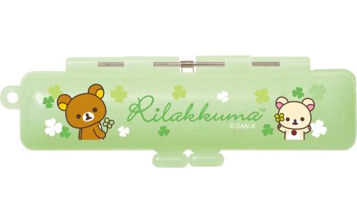 【中古】小物(キャラクター) リラックマ&コリラックマ(グリーン) 印鑑ケース 「リラックマ」