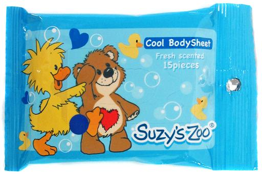 【中古】生活雑貨(キャラクター) ウィッツィー&ブーフ キャラクタークールボディシート 「Suzy's Zoo(スージーズー)」