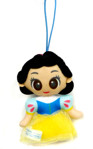 【中古】キーホルダー・マスコット(キャラクター) 白雪姫 大集合チュールドレスマスコット 「ディズニープリンセス ちびーず」