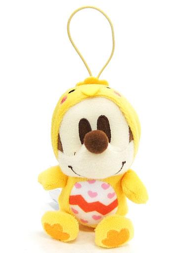 【中古】キーホルダー・マスコット(キャラクター) ミッキーマウス カラフルひよこマスコット 「ディズニーキャラクター ちびーず」