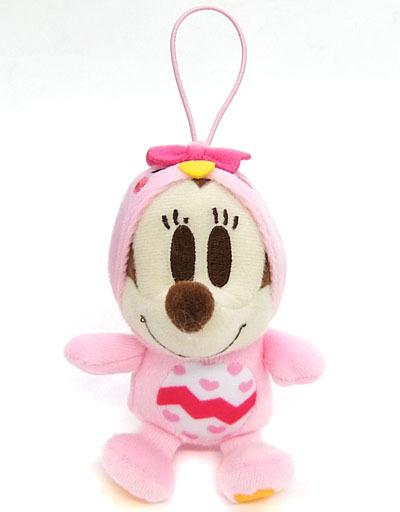 【中古】キーホルダー・マスコット(キャラクター) ミニーマウス カラフルひよこマスコット 「ディズニーキャラクター ちびーず」