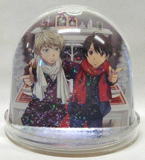 界塚伊奈帆&スレイン・トロイヤード スノードーム 「アルドノア・ゼロ」 あにしゅがクリスマスフェスタ2015グッズ